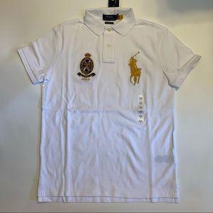 Polo Ralph Lauren Custom Slim Fit Big Pony Shirt
